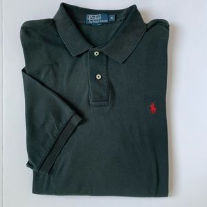 Polo by Ralph Lauren Black Short Sleeve Polo